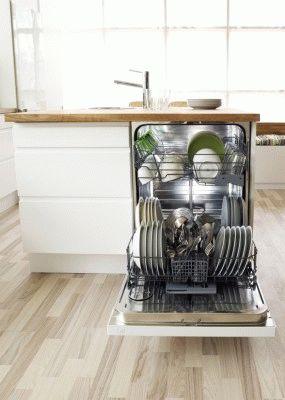 Конденсационная сушка в посудомоечной машине: отличительные особенности этого типа сушки