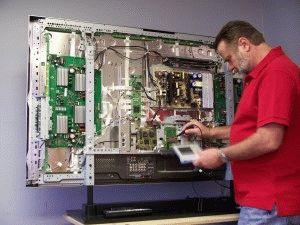 Телевизор с элт ремонт своими руками
