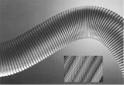 Декоративная гофрированная труба