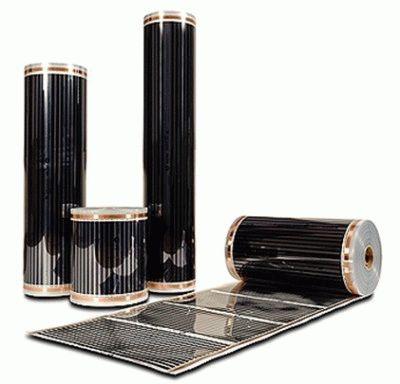 Конфигурации плёночных обогревателей