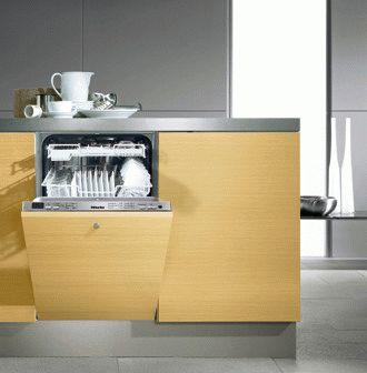 Узкая встраиваемая посудомоечная машина