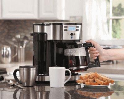 Приятный завтрак с кофеваркой