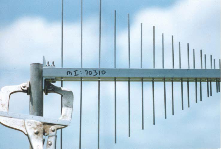 Антенна для приема дециметровых волн