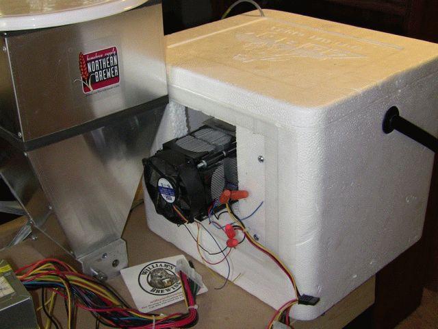 Пельтье самодельный холодильник