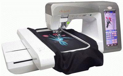 Нанесение узора швейной машиной