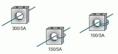 Схемы обмотки трансформаторов тока
