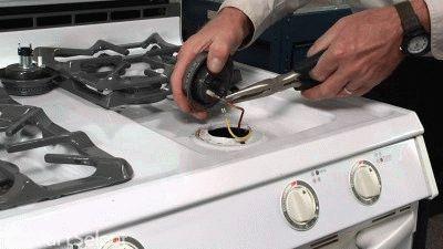 Плита indesit не работает газ контроль