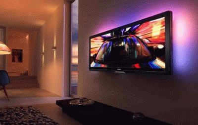 Телевизор с подсветкой