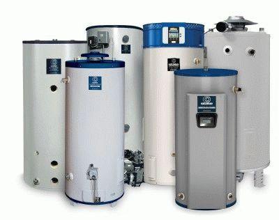 Объёмы водонагревательный баков