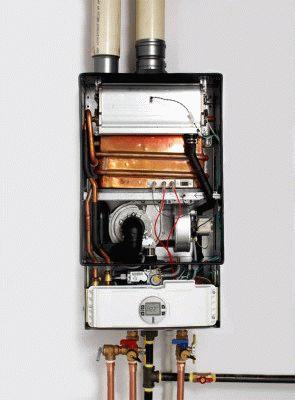 Конструкция проточного водонагревателя