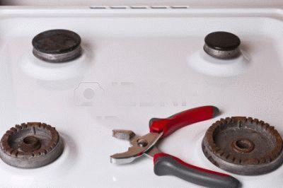Самостоятельный ремонт газовой плиты