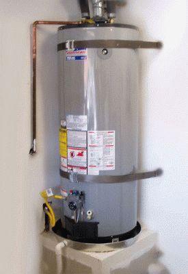 Подключение газового водонагревателя