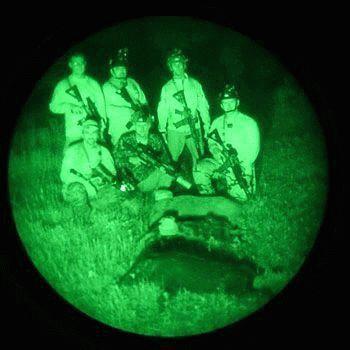 Ночью на охоте