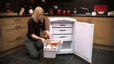 Хранение замороженных продуктов
