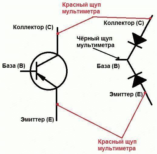 Как из диода сделать транзистор