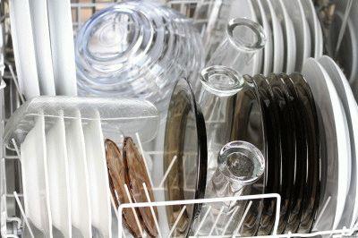 Посудомойка готова к работе