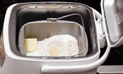 Ингредиенты закладываются в чашу