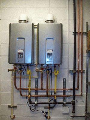 Установка водонагревателя правильно