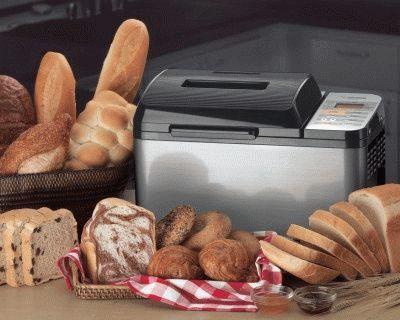 Вариации хлеба из хлебопечи