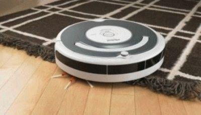 Робот пылесос убирает дом по карте