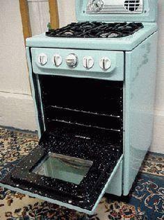 Конструкция газовой плиты