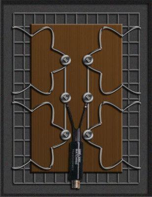 Производство фрактальной антенны