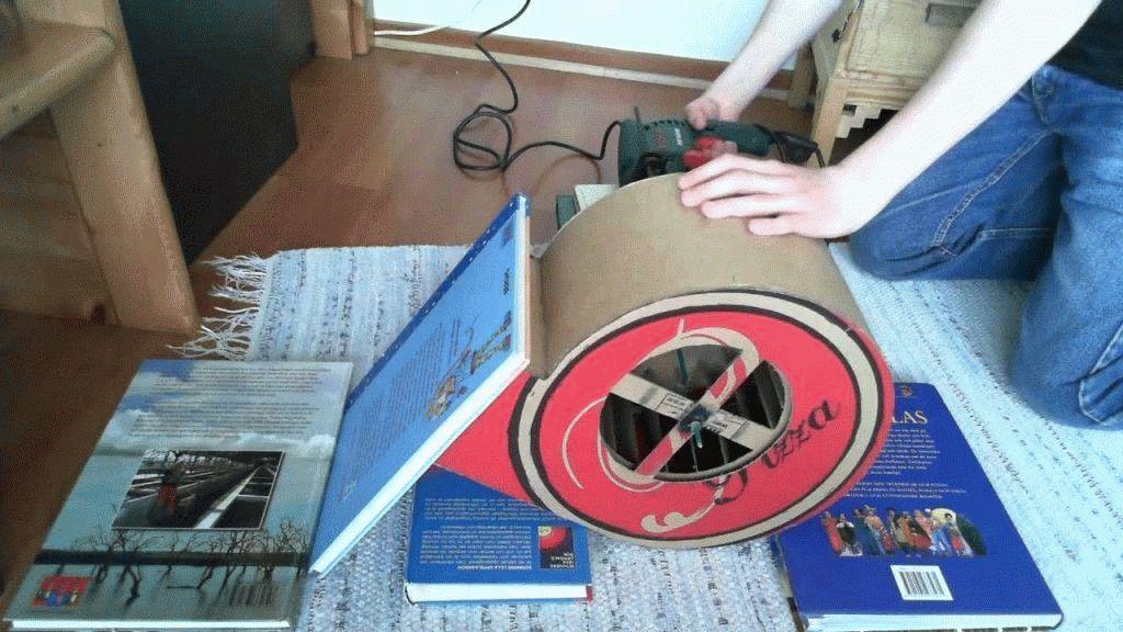 Как сделать улитку для вентилятора своими руками