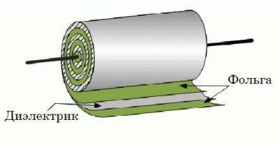 Диэлектрик в конденсаторе