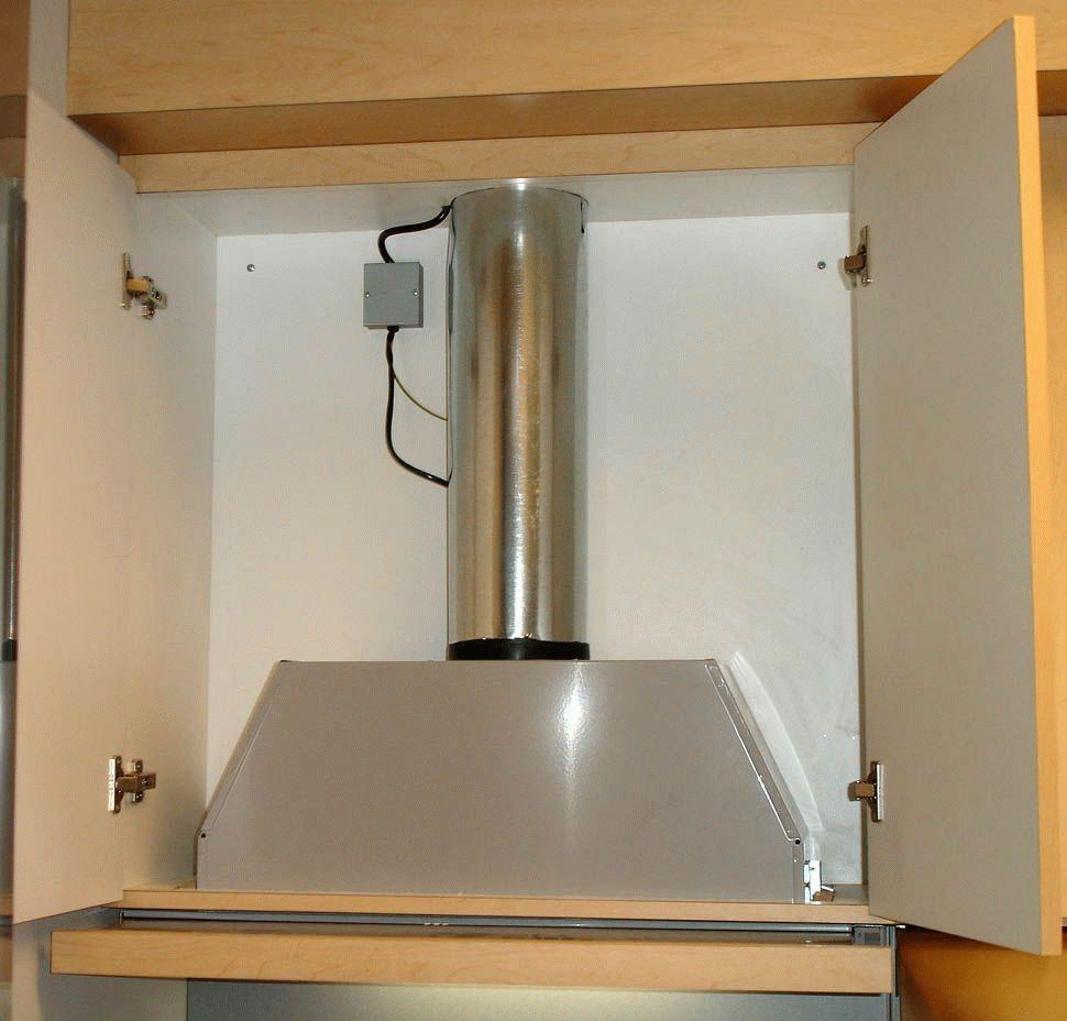 Как установить вытяжку на кухне своими руками фото 75