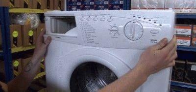 Панель программатора стиральной машины