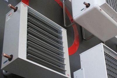 калорифер водяной с вентилятором своими руками