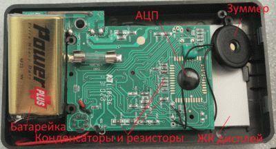 Микросхема устройства