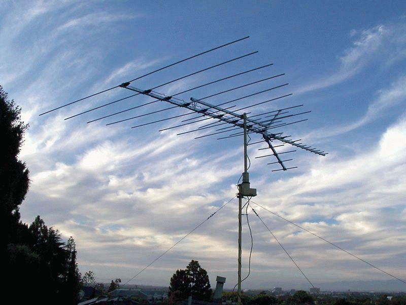 Установка эфирной антенны своими руками 48