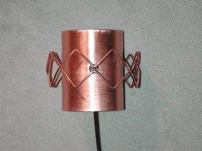 Биквадратная круглая антенна
