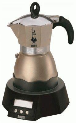 Электронная гейзерная кофеварка