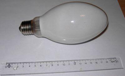 Люминесцентная ртутная разрядная лампа