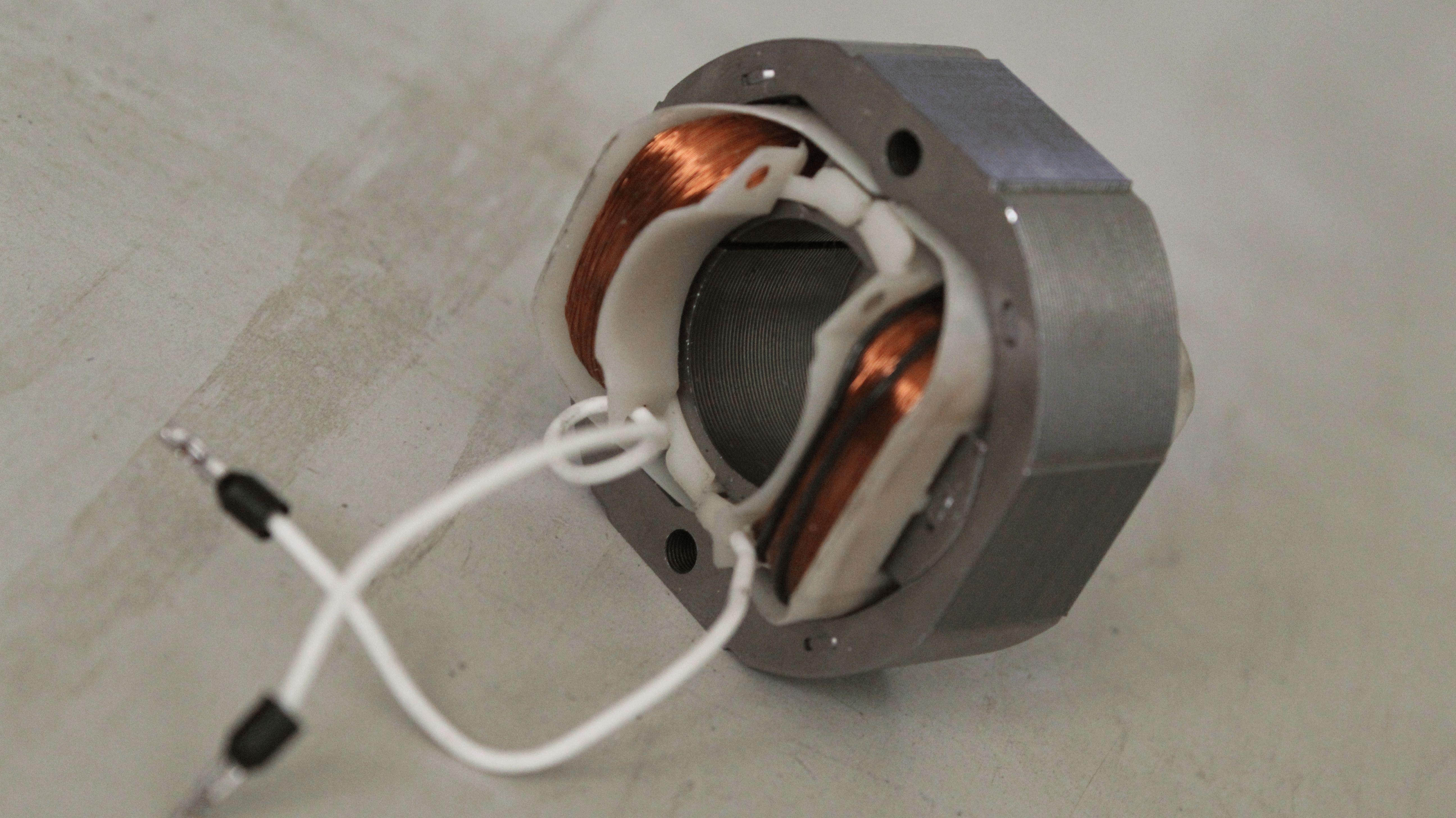 схема намотки однофазного конденсаторного эл.мотора