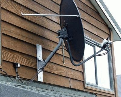 Сборка и установка антенны