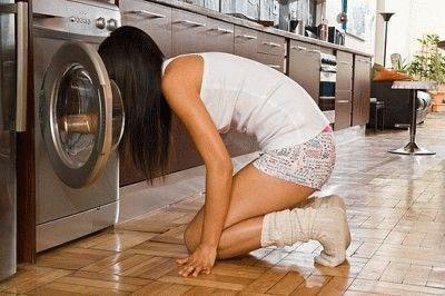Стиральная машина источает неприятный запах