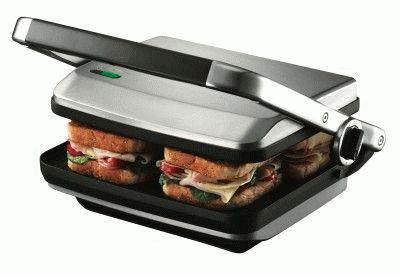 Бутербродница с гамбургерами