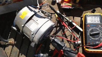 Измерение двигателя