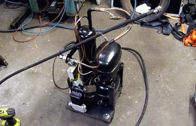 Гаражный компрессор