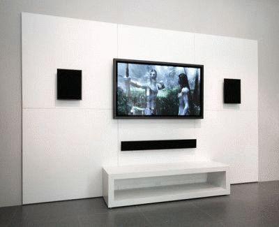 Звук установлен по бокам от телевизора