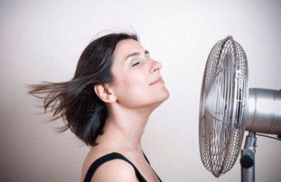 Наслаждение в духоту с вентилятором