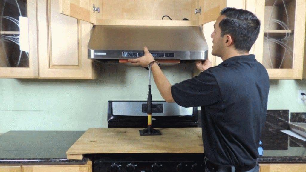 Вытяжка для кухни установка своими руками видео