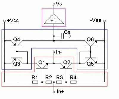 Схема тока обратной связи