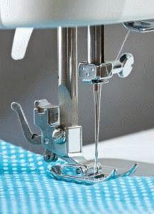 Наладка иглы швейной машины
