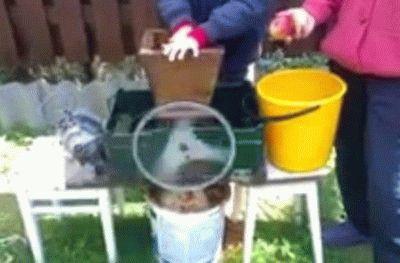 Соковыжималка из стиральной машины