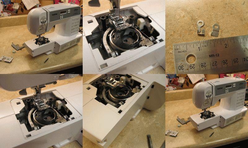 Ремонт швейных электрических машин своими руками