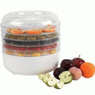Наполненная сушилка для фруктов и овощей